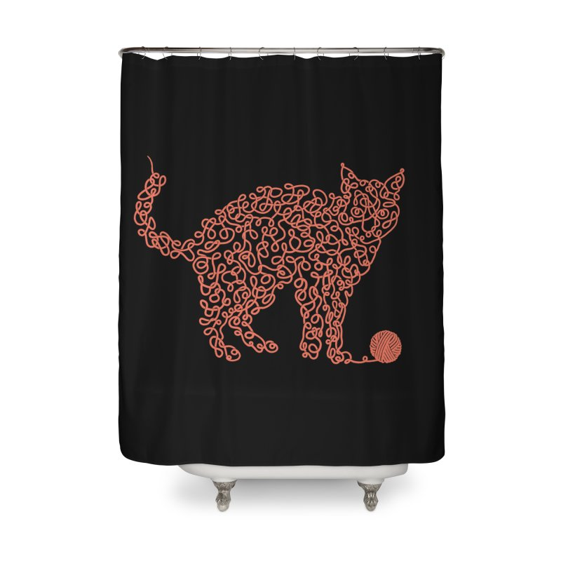Intricat Home Shower Curtain by Victor Calahan