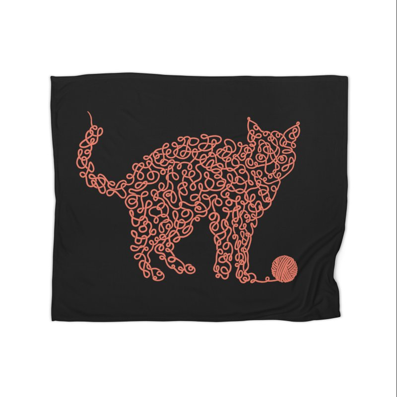 Intricat Home Fleece Blanket by Victor Calahan