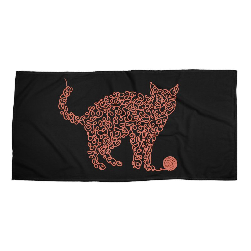 Intricat Accessories Beach Towel by Victor Calahan