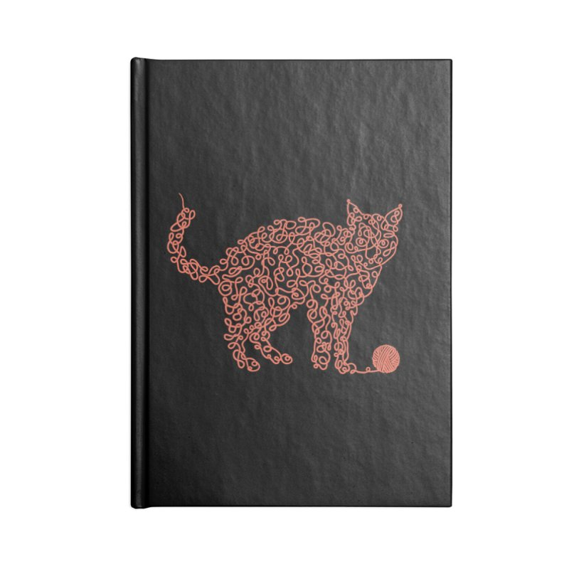 Intricat Accessories Notebook by Victor Calahan