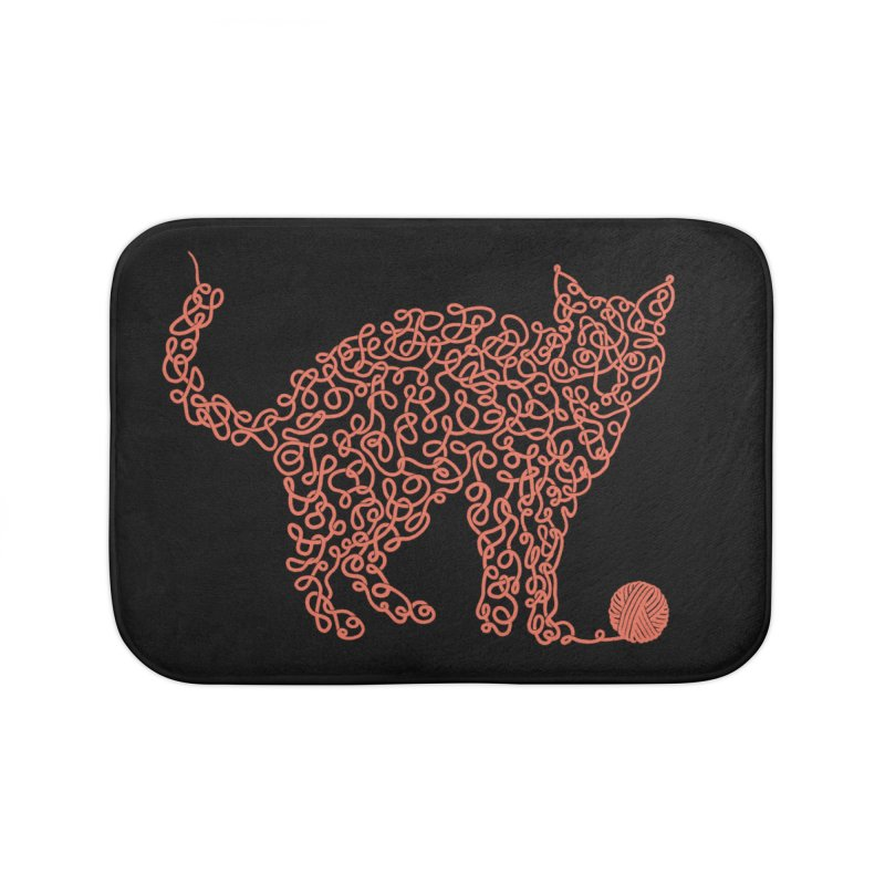 Intricat Home Bath Mat by Victor Calahan
