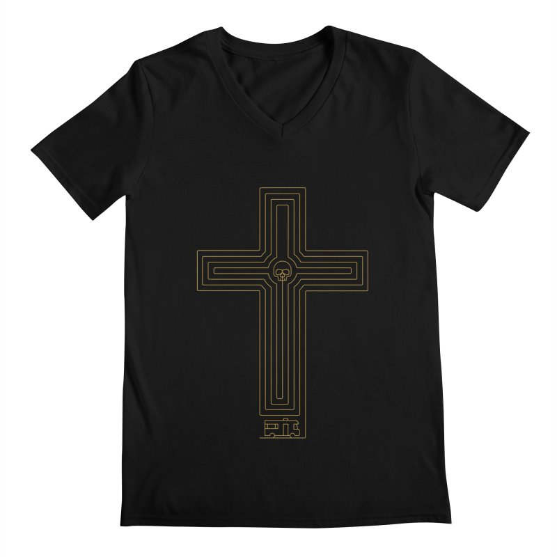 Road to Perdition Men's V-Neck by Victor Calahan