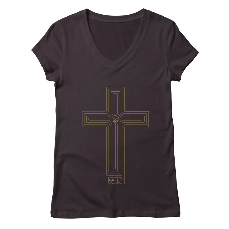 Road to Perdition Women's V-Neck by Victor Calahan