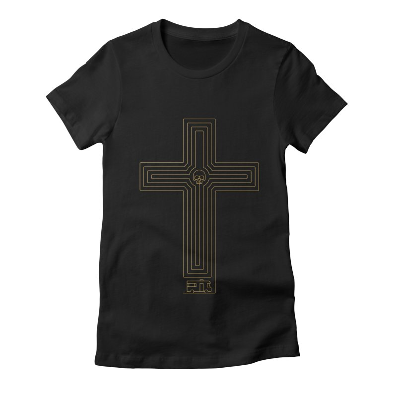 Road to Perdition Women's Fitted T-Shirt by Victor Calahan
