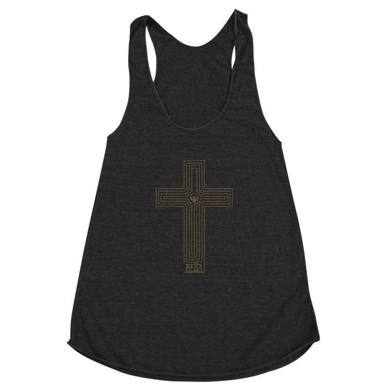 Road to Perdition Women's Racerback Triblend Tank by Victor Calahan