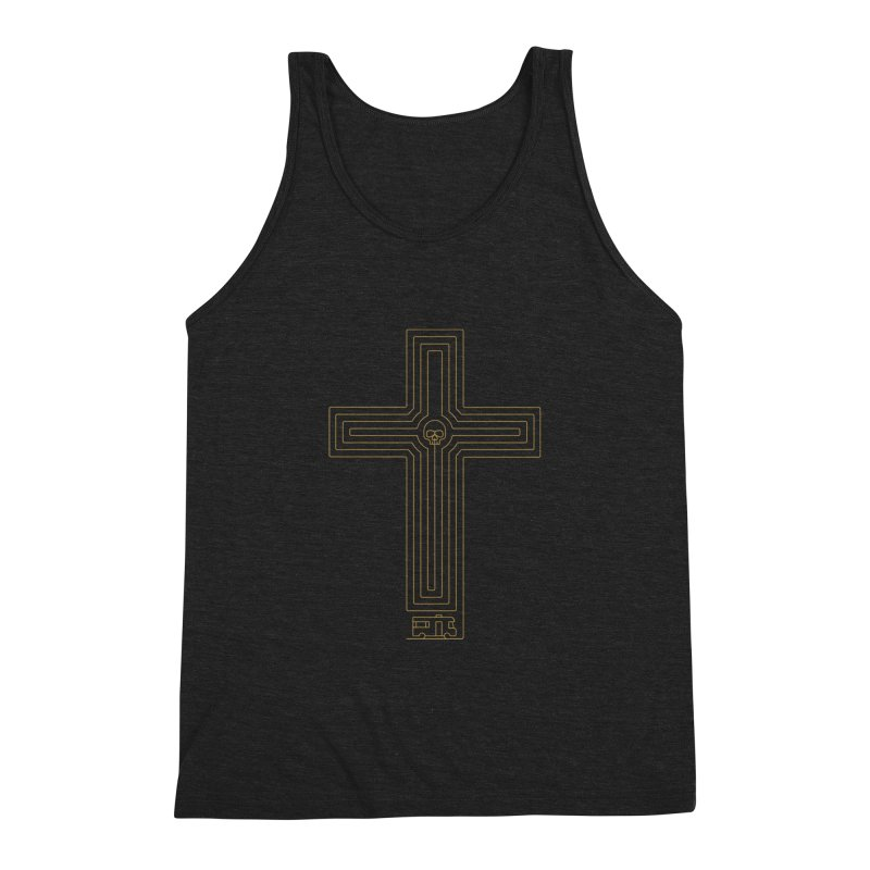 Road to Perdition Men's Triblend Tank by Victor Calahan