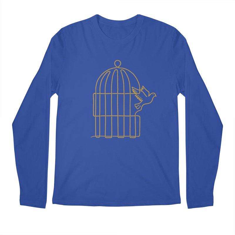 Lifeline Men's Longsleeve T-Shirt by Victor Calahan