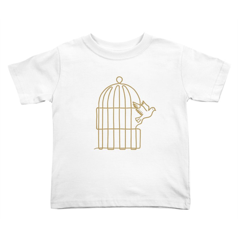 Lifeline Kids Toddler T-Shirt by Victor Calahan