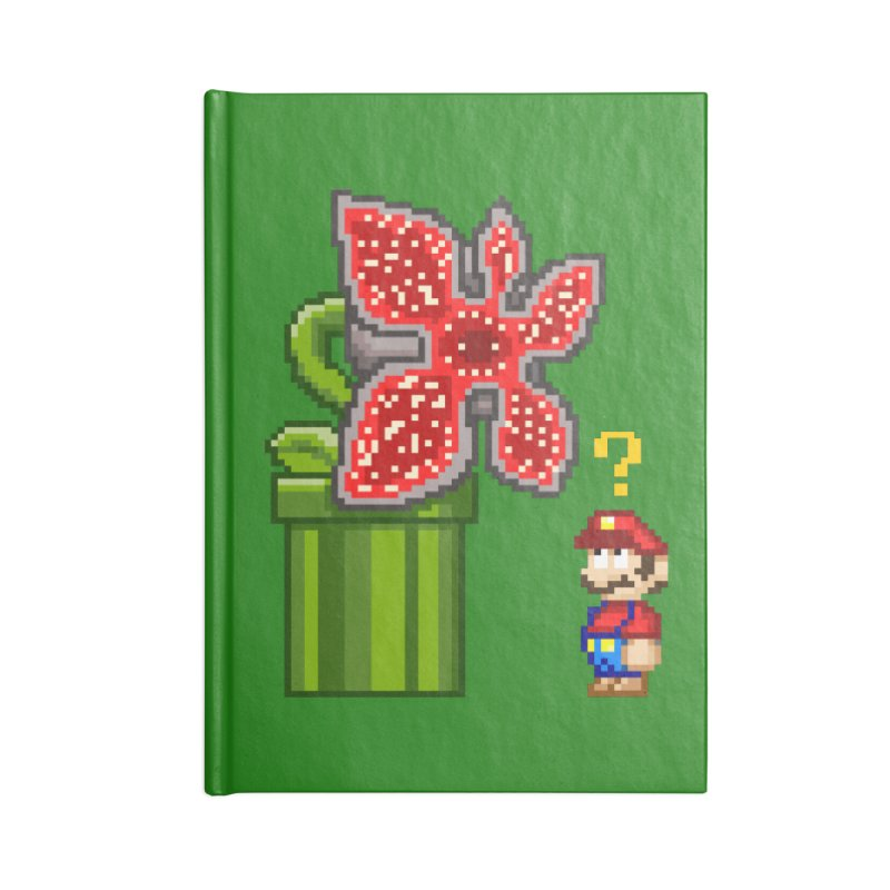 Stranger Bros Accessories Notebook by Victor Calahan