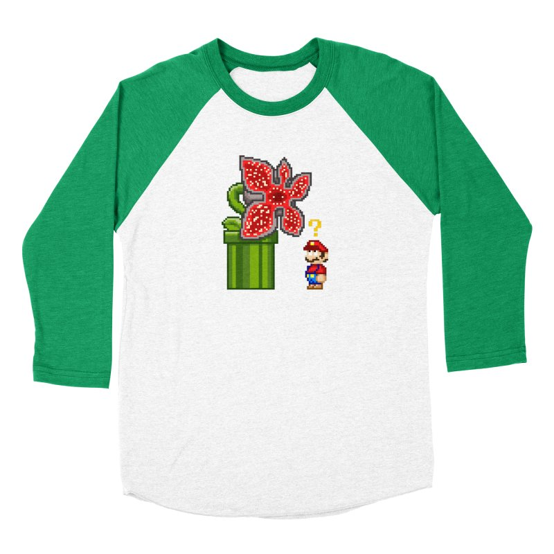 Stranger Bros Women's Baseball Triblend Longsleeve T-Shirt by Victor Calahan