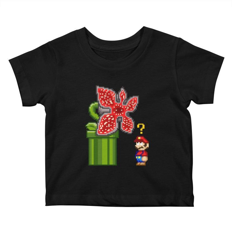 Stranger Bros Kids Baby T-Shirt by Victor Calahan