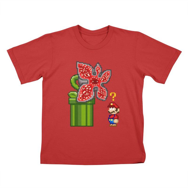 Stranger Bros Kids T-Shirt by Victor Calahan