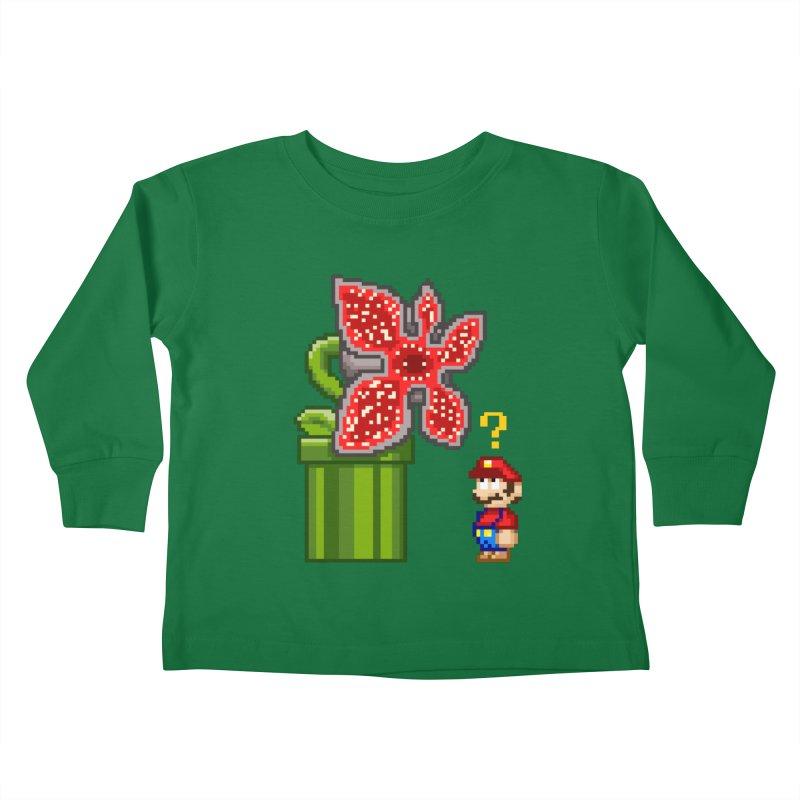 Stranger Bros Kids Toddler Longsleeve T-Shirt by Victor Calahan