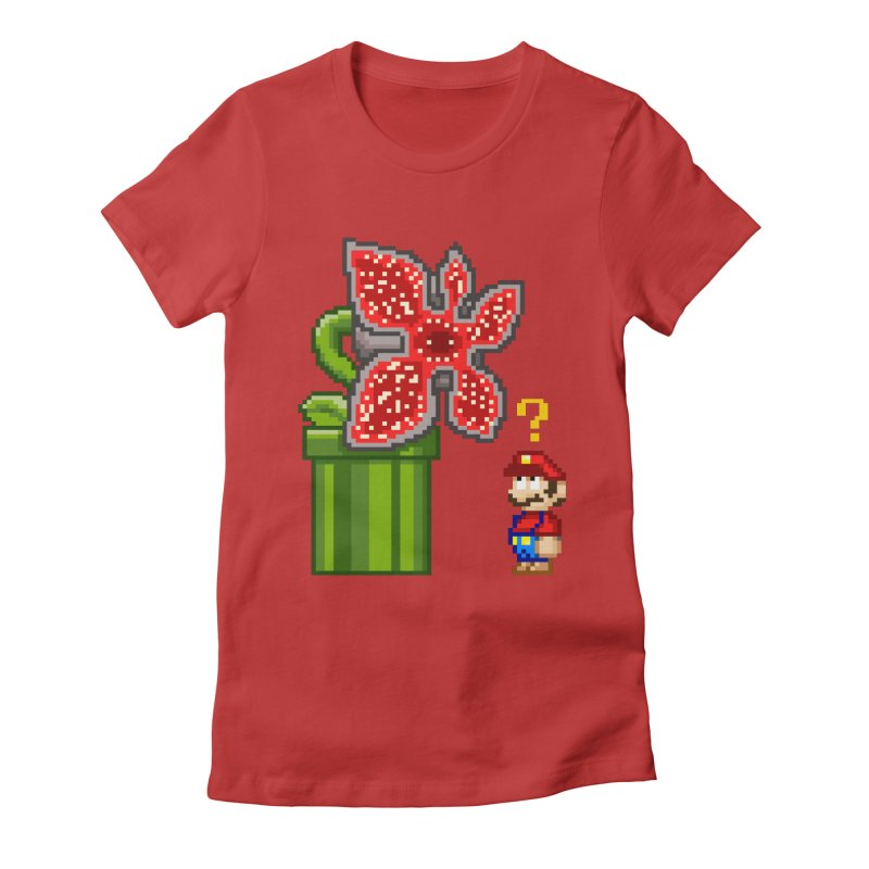 Stranger Bros Women's Fitted T-Shirt by Victor Calahan