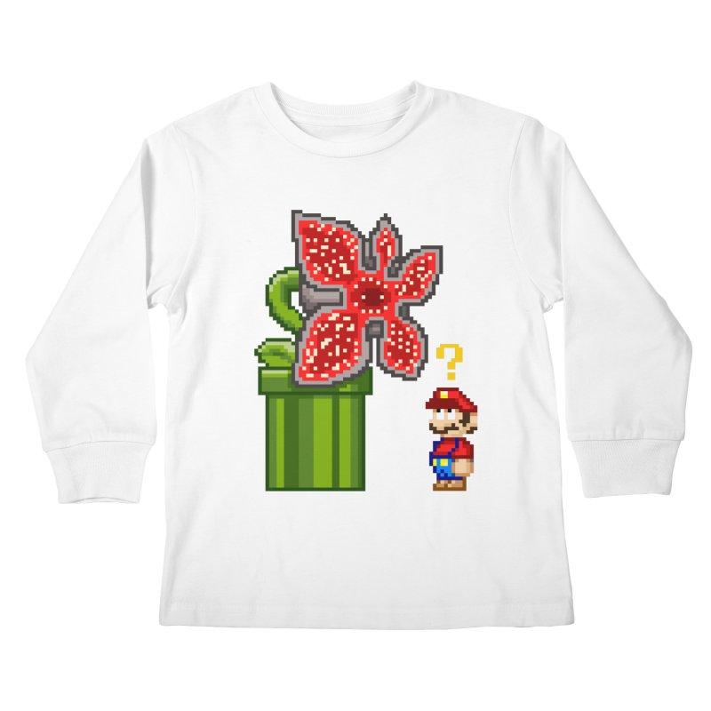 Stranger Bros Kids Longsleeve T-Shirt by Victor Calahan