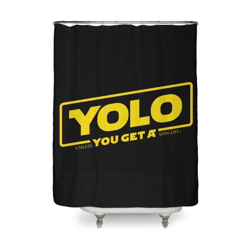 Yolo! Home Shower Curtain by Victor Calahan