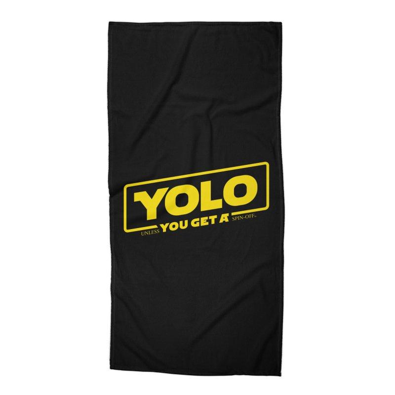 Yolo! Accessories Beach Towel by Victor Calahan