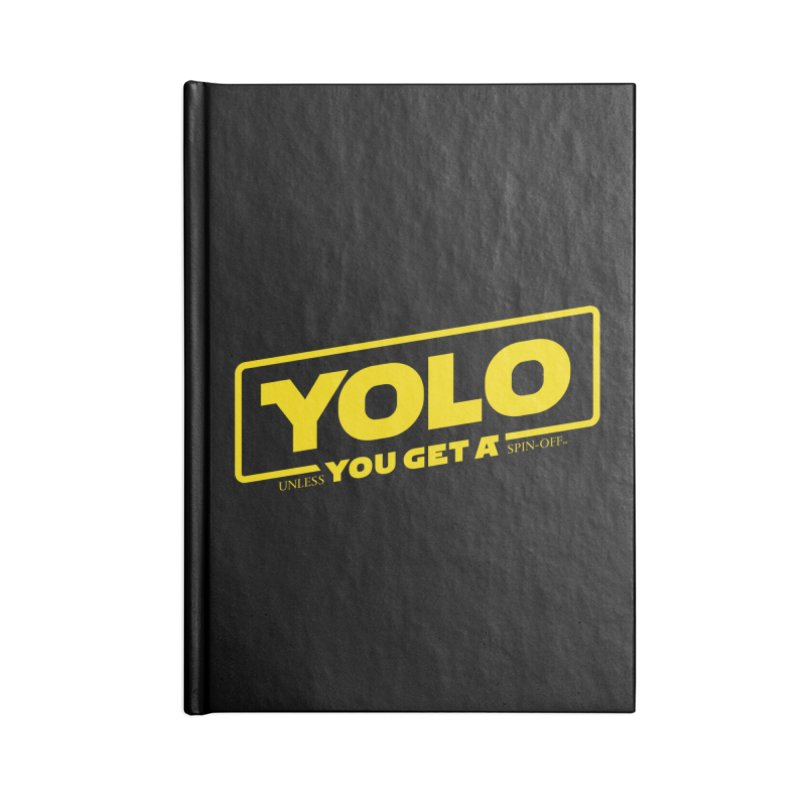 Yolo! Accessories Notebook by Victor Calahan