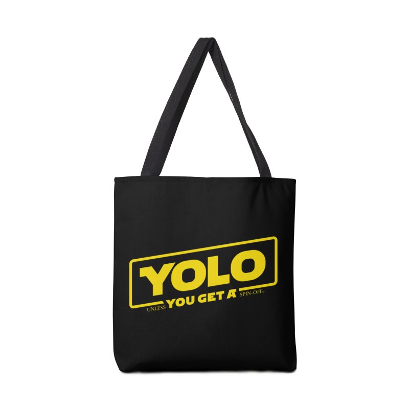 Yolo! Accessories Bag by Victor Calahan