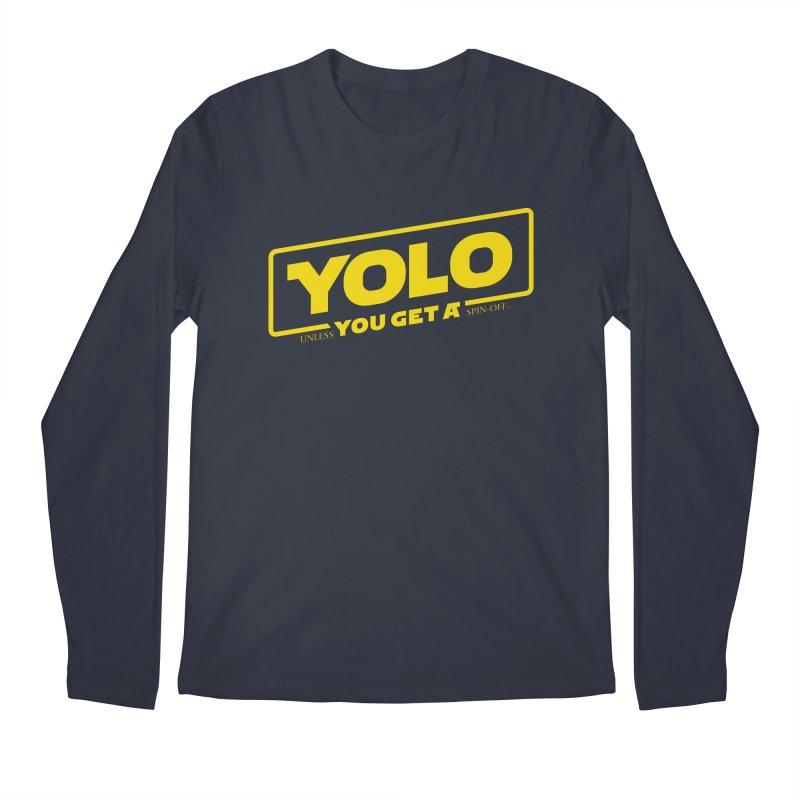 Yolo! Men's Longsleeve T-Shirt by Victor Calahan