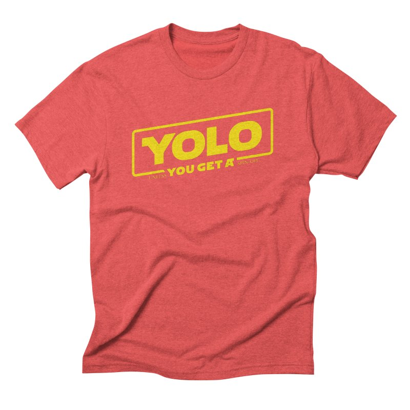 Yolo! Men's Triblend T-Shirt by Victor Calahan