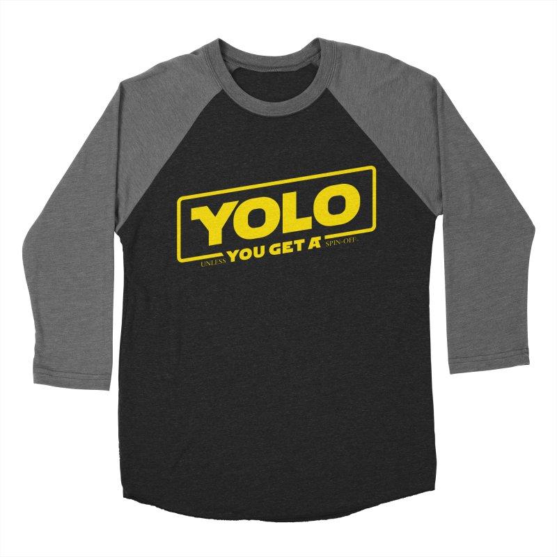 Yolo! Men's Baseball Triblend T-Shirt by Victor Calahan