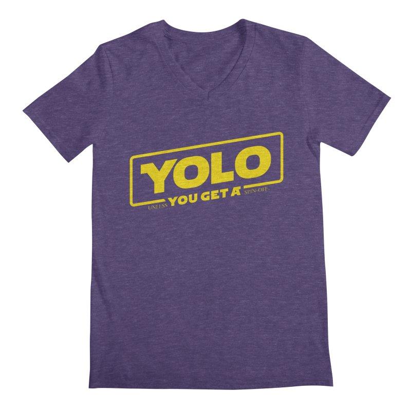 Yolo! Men's V-Neck by Victor Calahan