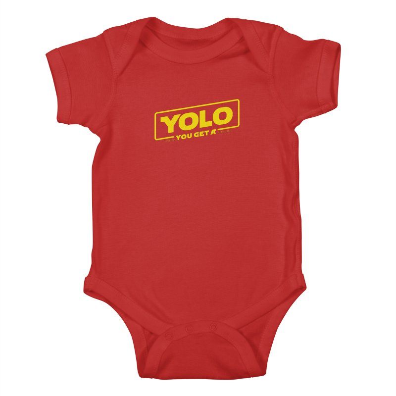 Yolo! Kids Baby Bodysuit by Victor Calahan