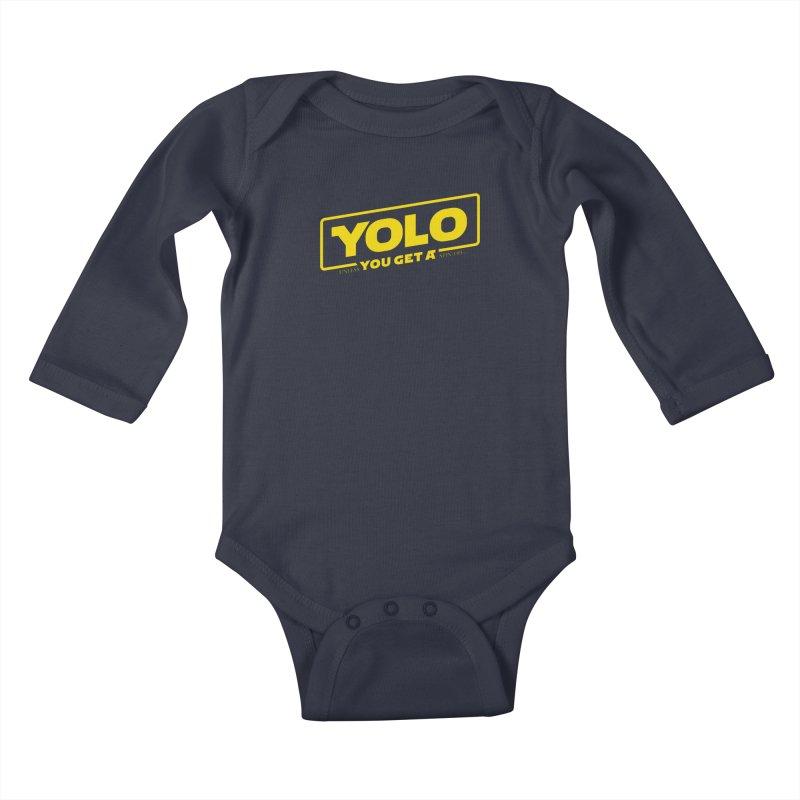 Yolo! Kids Baby Longsleeve Bodysuit by Victor Calahan