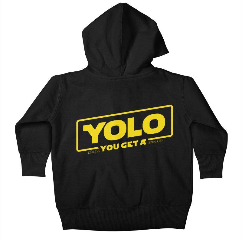 Yolo! Kids Baby Zip-Up Hoody by Victor Calahan