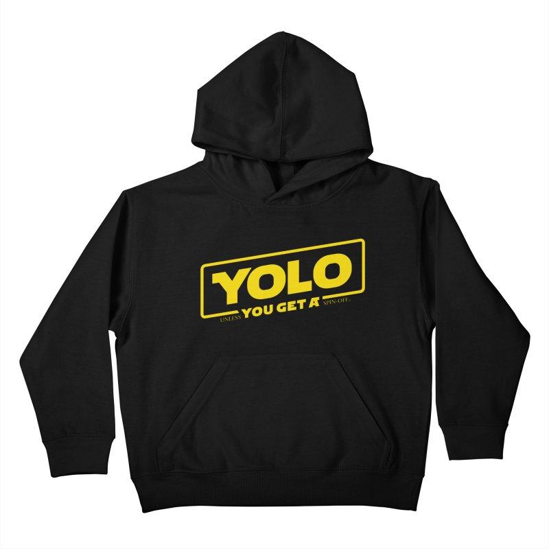Yolo! Kids Pullover Hoody by Victor Calahan