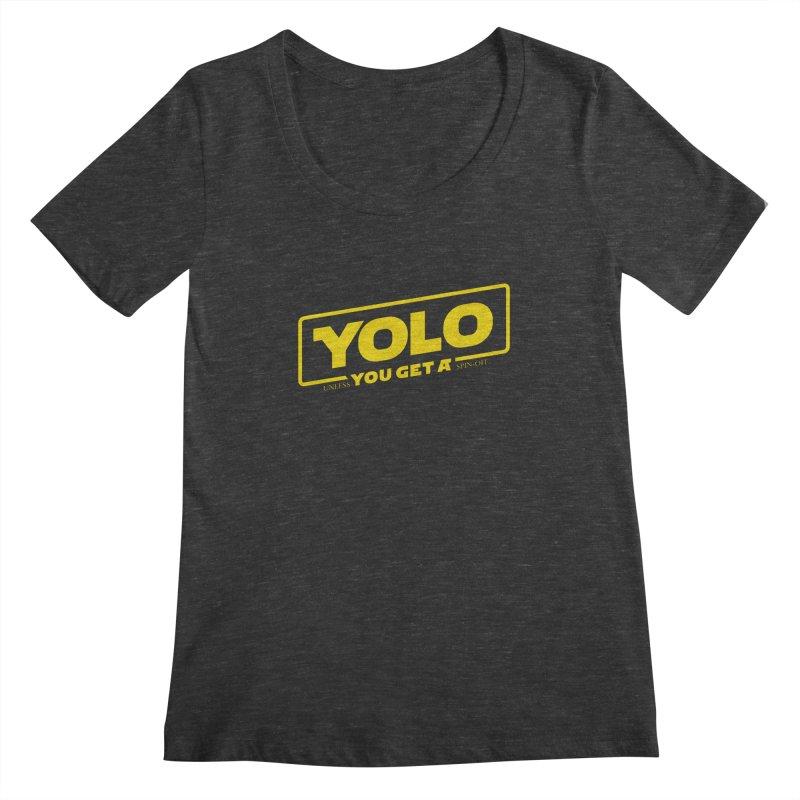 Yolo! Women's Scoopneck by Victor Calahan