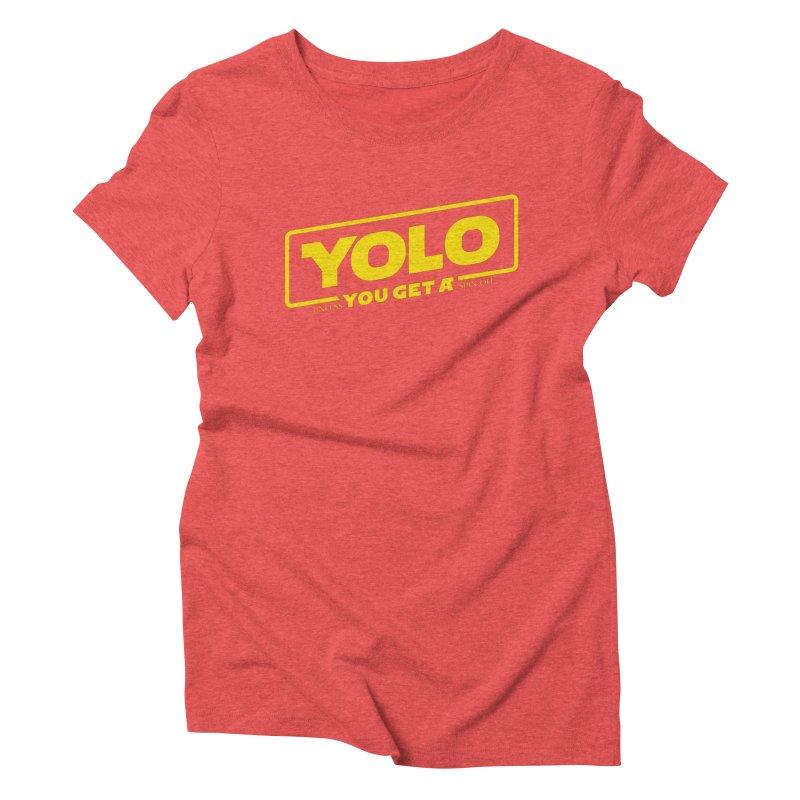 Yolo! Women's Triblend T-Shirt by Victor Calahan
