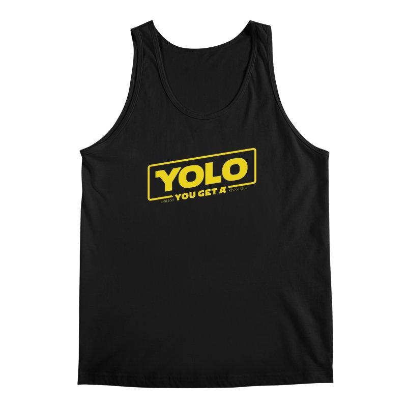 Yolo! Men's Tank by Victor Calahan