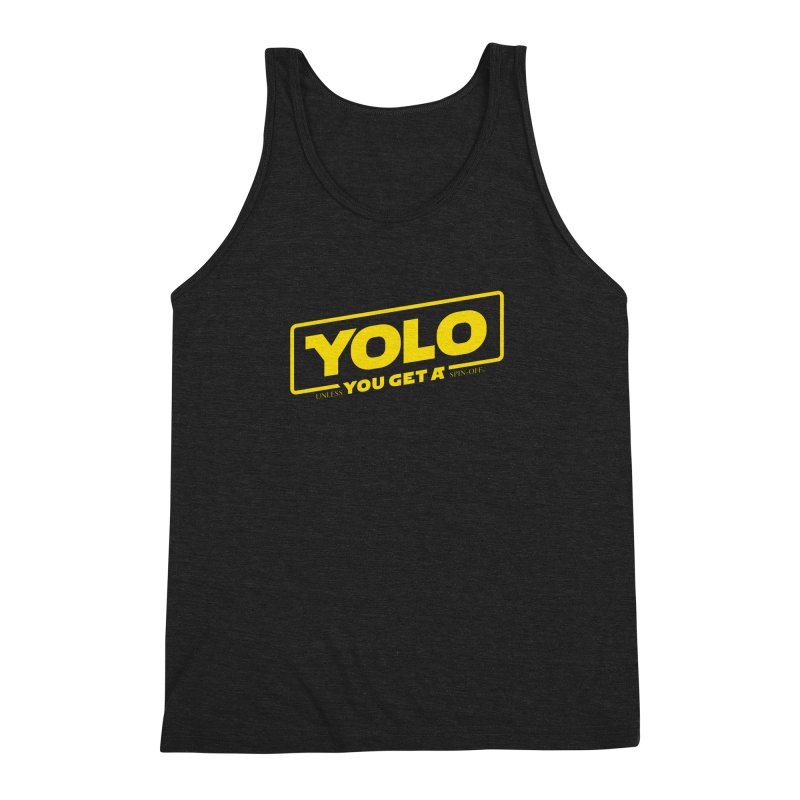 Yolo! Men's Triblend Tank by Victor Calahan