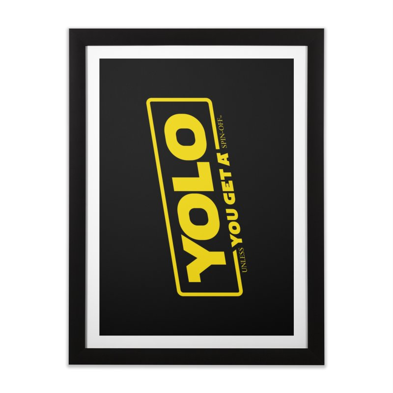 Yolo! Home Framed Fine Art Print by Victor Calahan