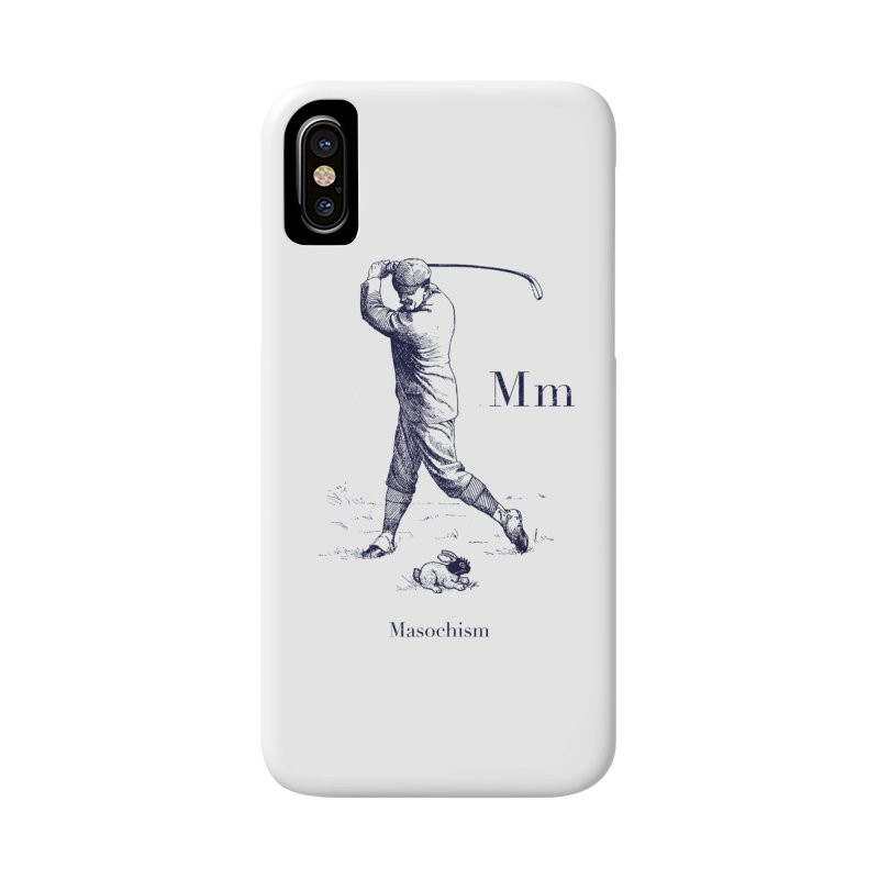 M like… in iPhone X Phone Case Slim by Victor Calahan