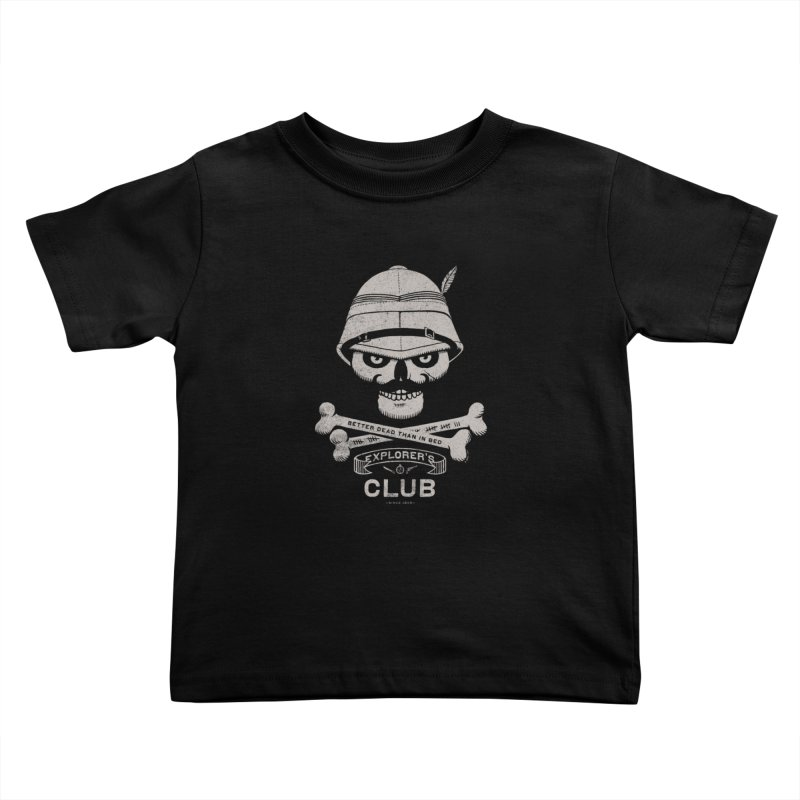 Explorer's Club Kids Toddler T-Shirt by Victor Calahan