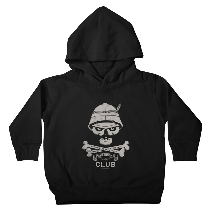 Explorer's Club Kids Toddler Pullover Hoody by Victor Calahan