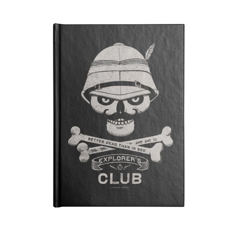 Explorer's Club Accessories Notebook by Victor Calahan