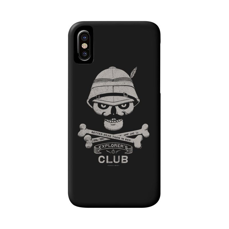 Explorer's Club Accessories Phone Case by Victor Calahan