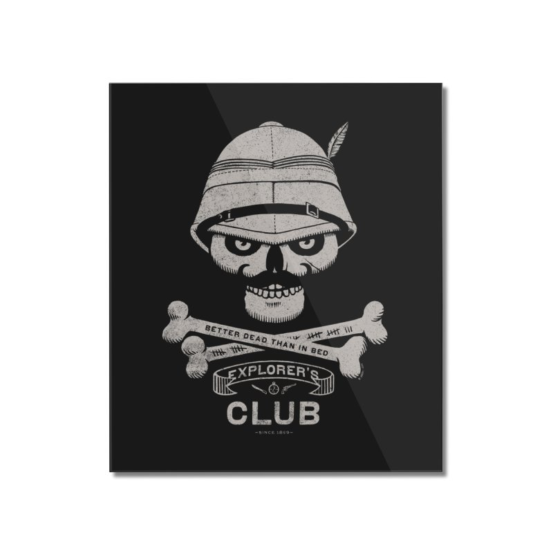 Explorer's Club Home Mounted Acrylic Print by Victor Calahan