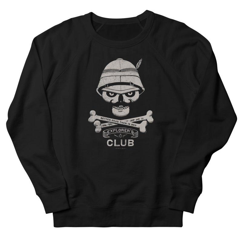 Explorer's Club Women's Sweatshirt by Victor Calahan