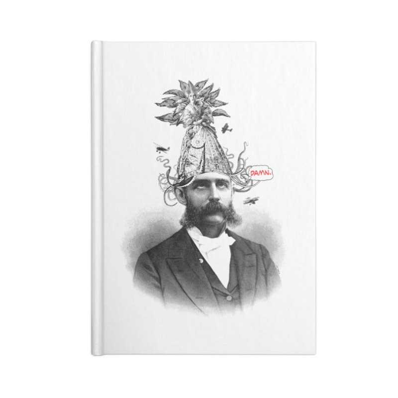 Damn! Accessories Notebook by Victor Calahan