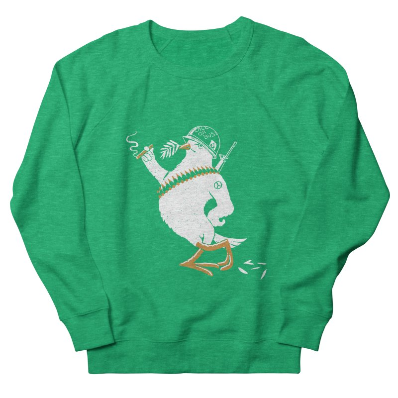 The Peacemaker Men's Sweatshirt by Victor Calahan