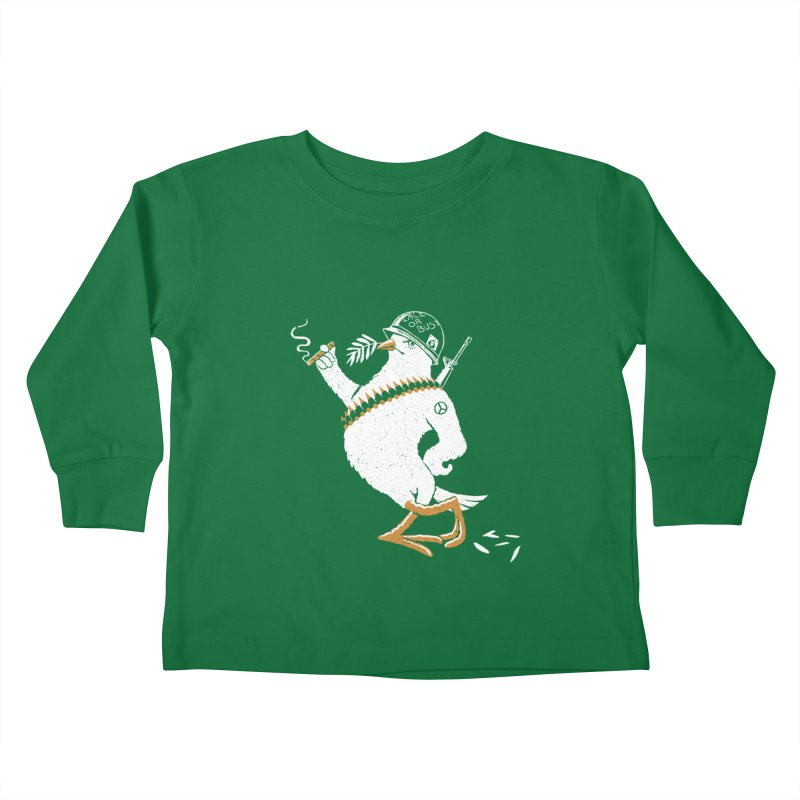 The Peacemaker Kids Toddler Longsleeve T-Shirt by Victor Calahan