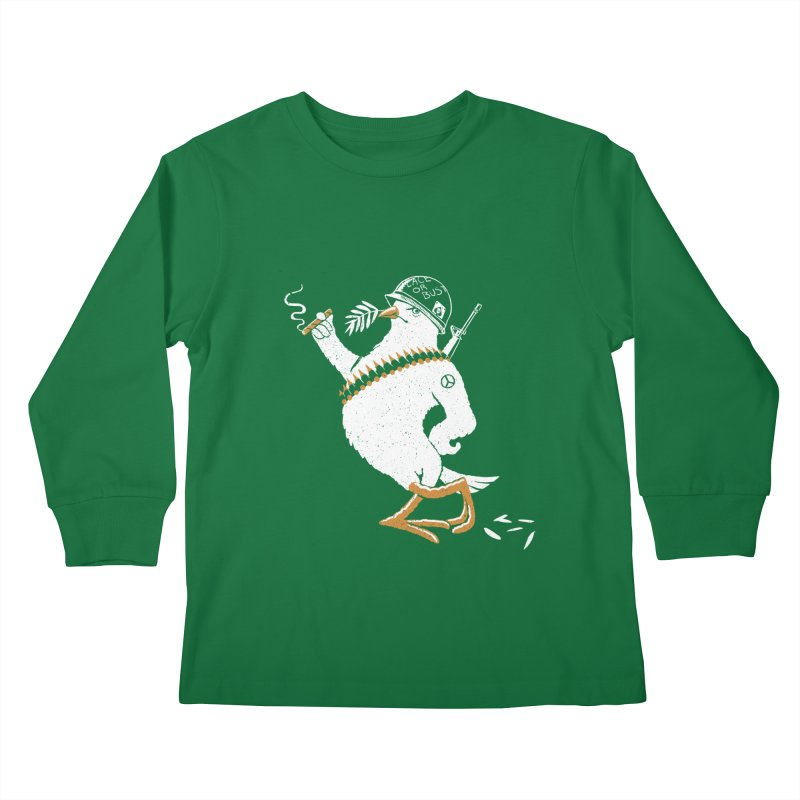 The Peacemaker Kids Longsleeve T-Shirt by Victor Calahan