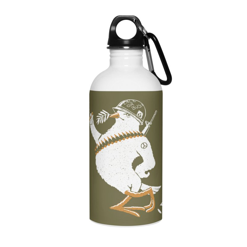 The Peacemaker Accessories Water Bottle by Victor Calahan