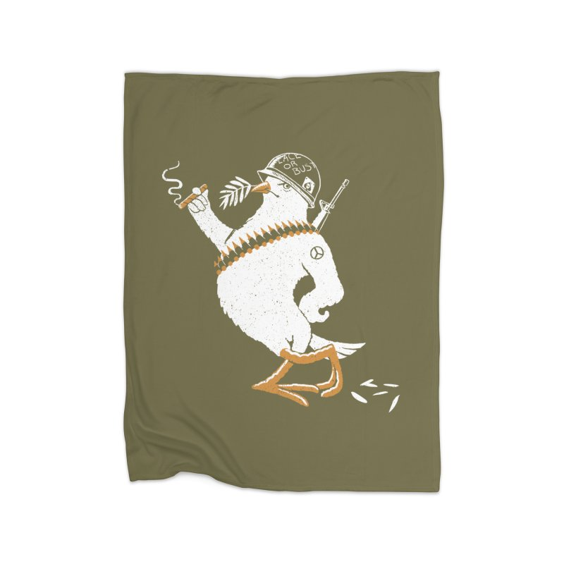 The Peacemaker Home Blanket by Victor Calahan