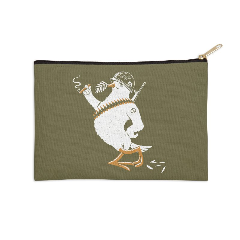 The Peacemaker Accessories Zip Pouch by Victor Calahan